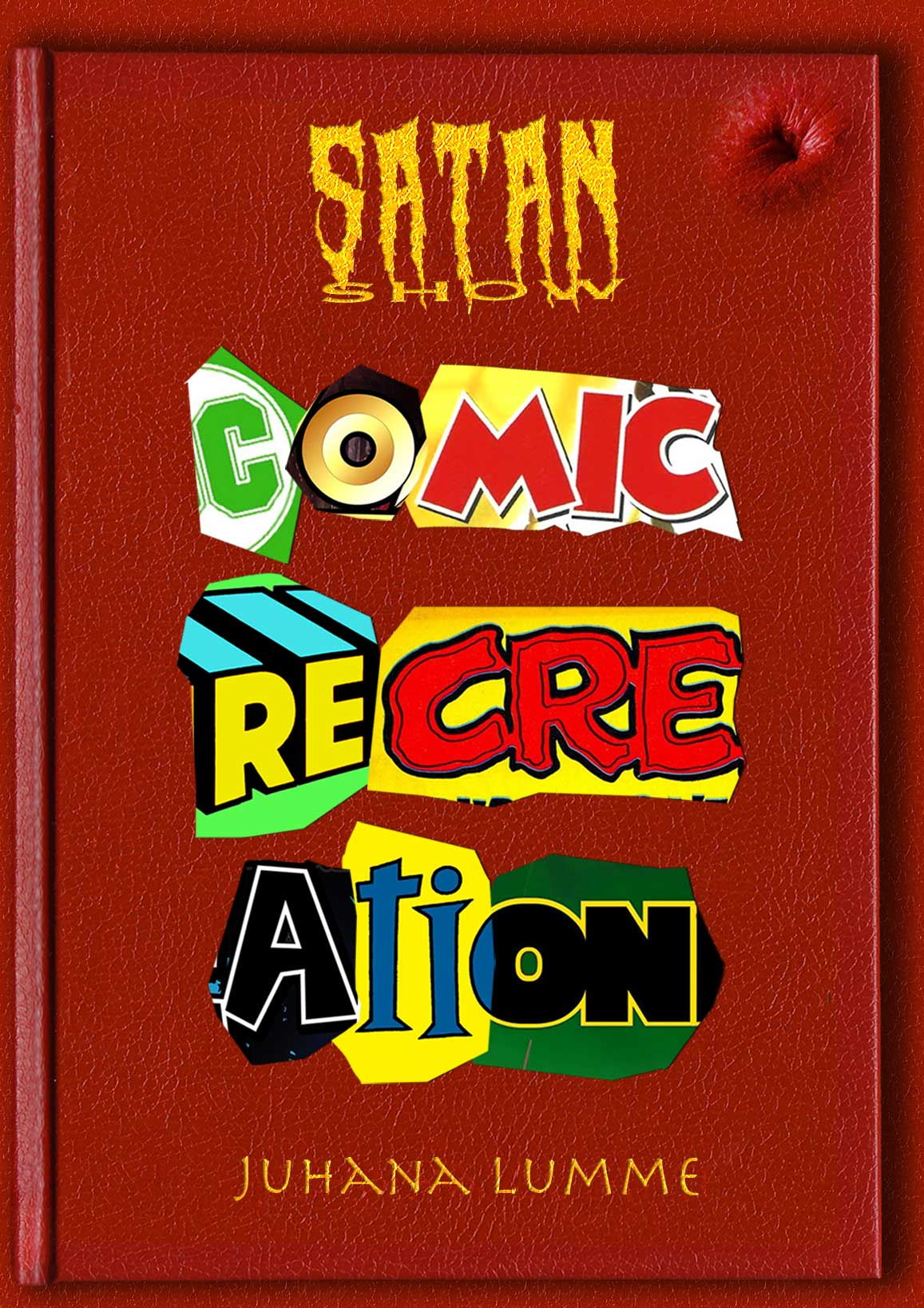 Satan Show Comic Recreation
